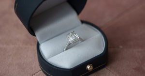 Engagement Ring at Shah & Shah Jewelers