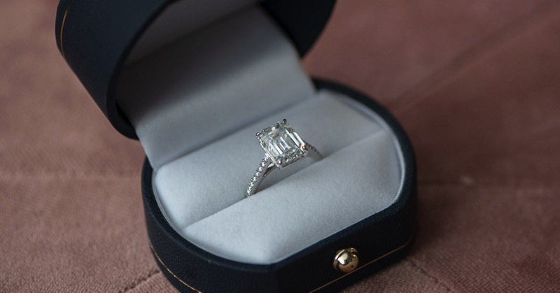 Engagement Ring at Shah & Shah Jewelers